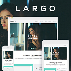 Lapel - One Page & Multi Page Muse Template